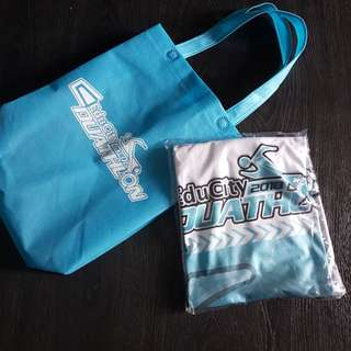 Edu Dualtalon event t n Tote bag (L)