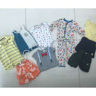 Baby boy clothes-3 mos