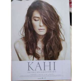 KAHI 1st Mini Album