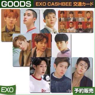 [PREORDER] EXO CASHBEE PUBLIC TRANSPORTATION CARD