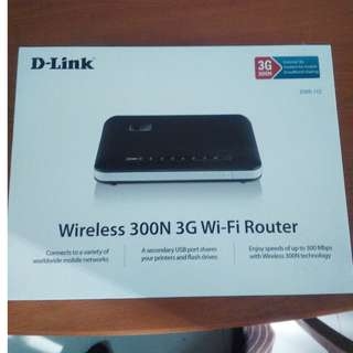 D-Link DWR-112 Wireless 300N 3G Wi-Fi Router