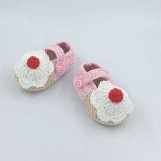 Sepatu Rajut Cupcake