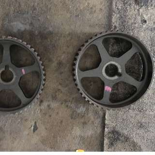 Original Toyota 2JZ cam pulley
