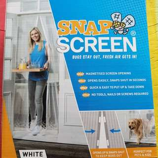 SNAP SCREEN (magnetic mosquito curtain)