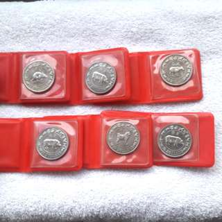 $10 coins