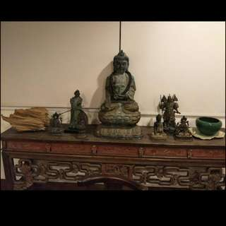 🚚 100年神桌、銅雕