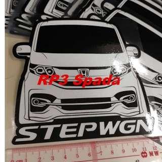 Stepwgn RP3 Custom訂制圖案 貼紙