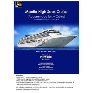 Manila High Seas Cruise