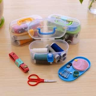 Sewing Kit Box Kotak Peralatan Perlengkapan Jahit