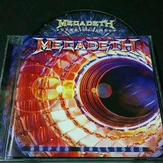 megadeth (super collider) c.f. metal