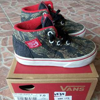 Vans Kids Half Cab (Camo & Denim)