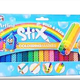 Artline stix marker pen set