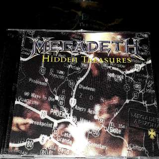 megadeth (Hidden treasure) cd metal