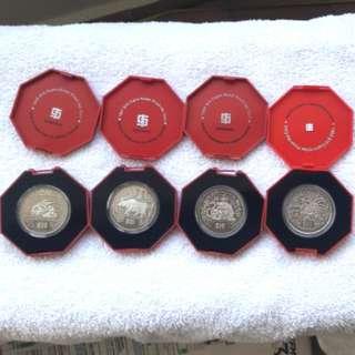 $10 cupro-nickel proof-like coin