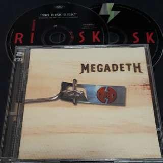 megadeth (risk) 2cd metal