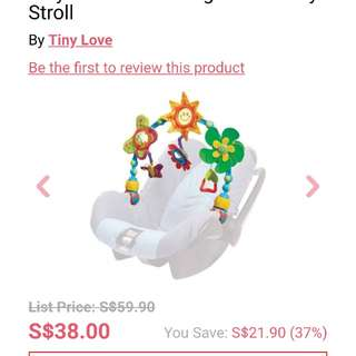 Tiny Love Take Along toy (stroller or carseat) with gift