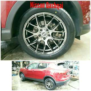 Tyre 235/50 R18 Membat on Nissan Qashqai 🐓 Super Offer 🙋♂️