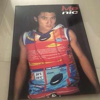 Nicholas Tse Me Nic CD, VCD & picture album 写真集