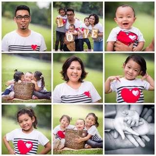 Family outdoor photoshoot (CNY PROMO)