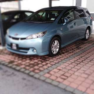 Car Rental - Toyota Wish