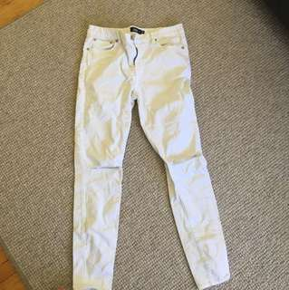 Sportsgirl white denim jeans