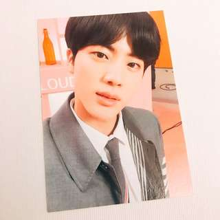 BTS Jin photo binder