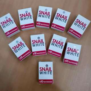 Snail white soap