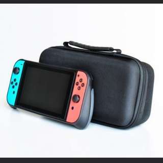 Nintendo switch Gripcase neon red and blue