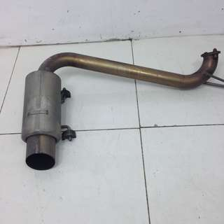 Subaru GH3 Exhaust (AS2193)