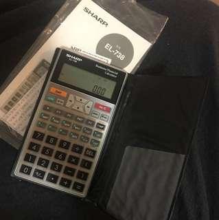 EL-738 Financial Calculator
