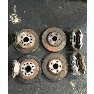 Lexus Toyota Brake Disc Rotor and Caliper One set