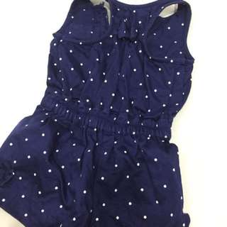 Mothercare Spotty Playsuit