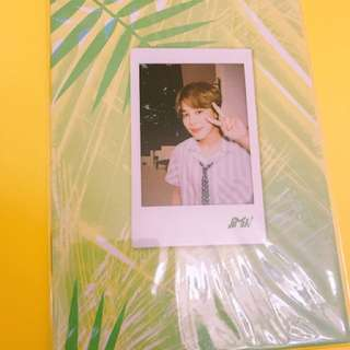 BTS summer package jimin selfie book