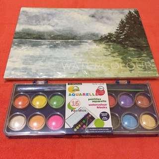 set watercolour brand & watercolor kit