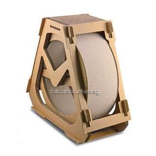 Cat wheel scratch rotatable