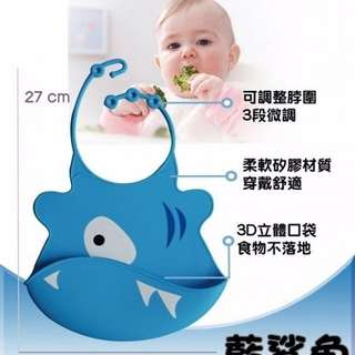 Rubber silicone baby bib嬰兒矽膠圍兜