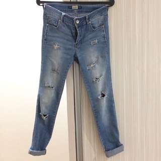Ripped Jeans Pull&Bear