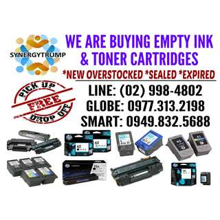 hIGEST pRICE bUYER oF Empty ink and toner cartridges