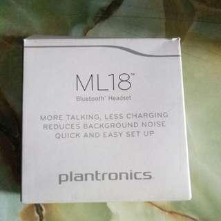 Plantronics ML18 BLUETOOTH HEADSET