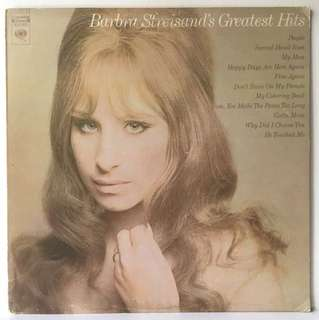 Barbra Streisand ‎– Barbra Streisand's Greatest Hits (1970 USA Pressing - Vinyl is Excellent)