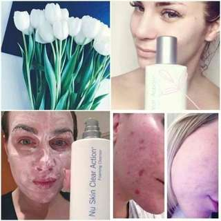 Nu Skin Clear Action Form for pimple breakout
