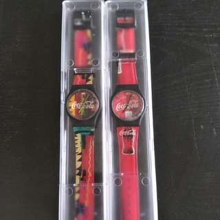 Coca cola collectible watch