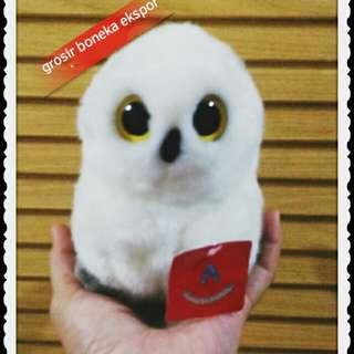 Boneka Burung Hantu Snowy Owl