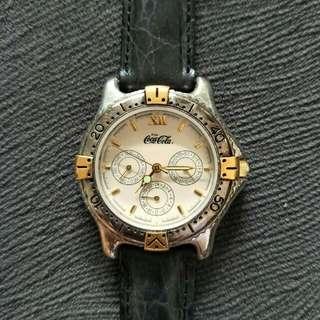 Coca cola collectible watch