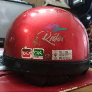 (Sold) Vintage Sgv M Rider Half Steng Helmet