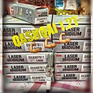 Nissan Qashqai 1.2T NGK LASER IRIDIUM Spark Sparks plug