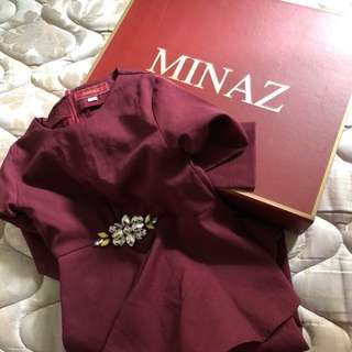 Preloved Minaz Rossa Kids - Size S (5-6yr)