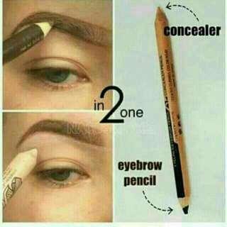 Menow Eyebrow + Concealer Pencil