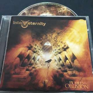 into eternity (buried in oblivion) cd metal