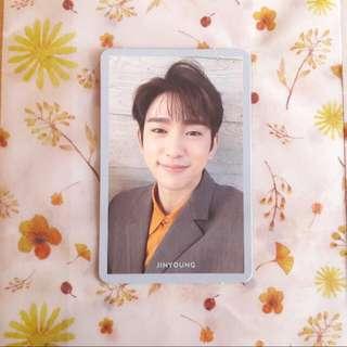Got7 Jinyoung Present Edition 珍榮 自拍小卡